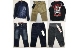 One Off Joblot of 11 Branded Kids Clothing - Guess, BOSS, Bugatti, Boboli