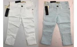 One Off Jobot of 9 Just Blue Girls Jeggings in Light Blue & White Sizes 6-14