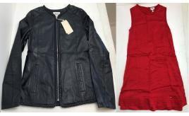 One Off Joblot of 4 Armani Junior Girls Sheep Leather Jackets & Dresses