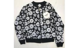 One Off Joblot of 4 Parrot Italy Girls Black Net White Flower Jackets Sizes 8-12