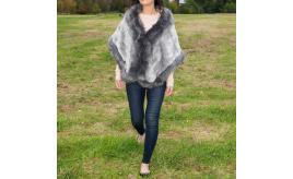 Luxury Women Girls High Quality Faux Full Fur Cape -Box of 25 pcs Mix
