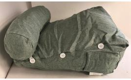 Wholesale Joblot of 10 Comfortable Wedge Cushion in Green - Medium Size