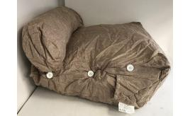 Wholesale Joblot of 8 Comfortable Wedge Cushion Light Brown - Medium Size