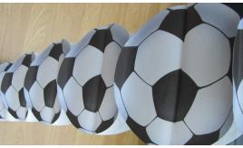 24 packs of Football birthday banner 3D bunting
