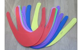 144 Kids foam Sun Visors in various colours.