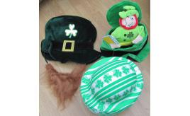 132 x Irish hats. Bowlers fancy dress St. Patrick's day RRP £797.77
