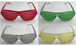 Wholesale Joblot of 20 80s Style Shutter Shade Sunglasses 5 Colours 033