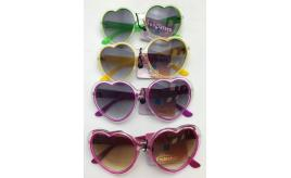 Wholesale Joblot of 20 Womens Heart Shaped Lens Sunglasses in 4 Colours SG-179