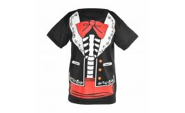 Wholesale Joblot of 21 Amscan Day of the Dead T-Shirt Kids 8/10 Years