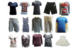 Joblot of 50 Mixed Ladies & Mens Branded Clothing