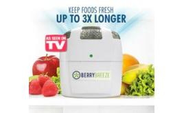 Fridge Fresh by Berry Breeze, Fridge deodriser and Food Life Extender, certified organic