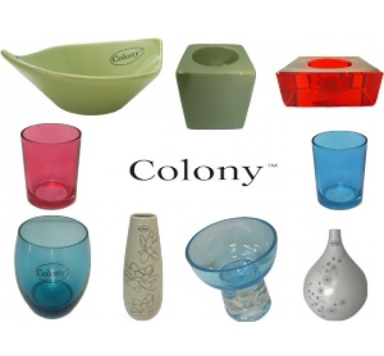 Wholesale Joblot Of 150 Colony Giftware Inc Candle Holders, Vases
