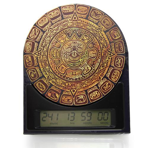 Parcels of 36 Mayan Countdown Clocks-Count down to important events-MAYCLK
