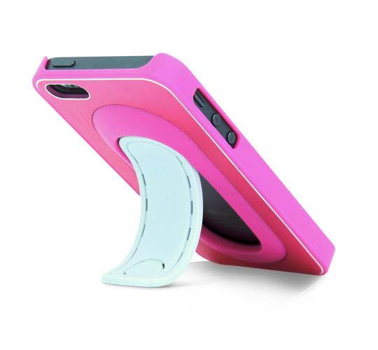 Clearance parcels of 50 Click Stand Case for iPhone 5 - Pink - IP5FLIPCASPNK