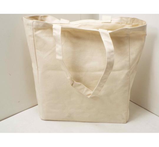Clearance job lot of 50 natural 12oz cotton shopper bag - BB0591
