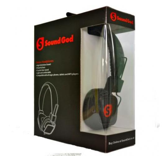 Sound God Headphones - Wholesale lot for sale