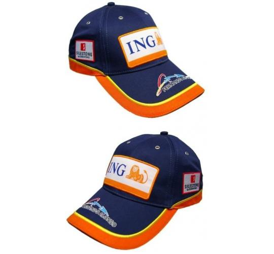 Job Lot of Formula One Renault F1 Team Fernando Alonso Childrens Size Caps