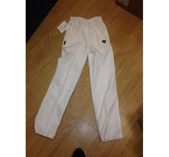 fearnley cricket whites trousers boys large x 10