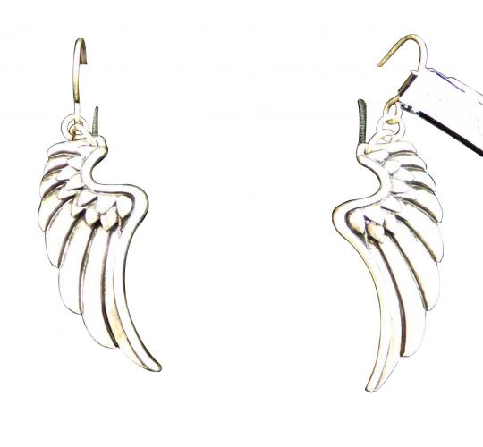 Joblot of 10 Pairs of Golddigga Earrings Silver Angel Wing Design Elegant