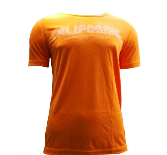 Joblot of 10 Hilfiger Mens T Shirts De-Branded Fluorescent Orange 'California'