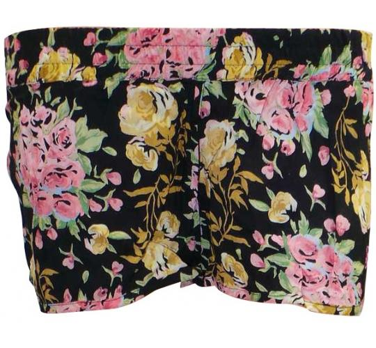 Joblot of 10 Billabong Black Floral Beach Shorts Ladies Various Sizes Summer