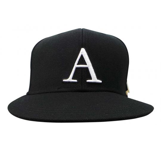 Joblot of 10 Atticus Baseball Hats Black 'A' White Detail Tags Intact AHW7107