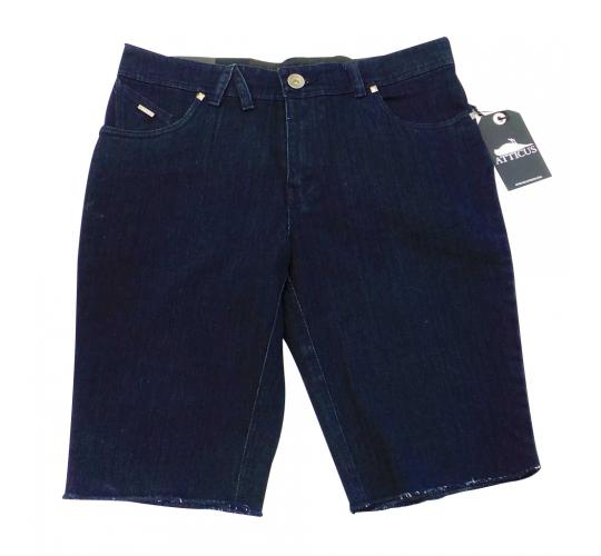 Joblot of 10 Pairs of Atticus Shorts Mens 'Drainer' Navy Denim Various Sizes