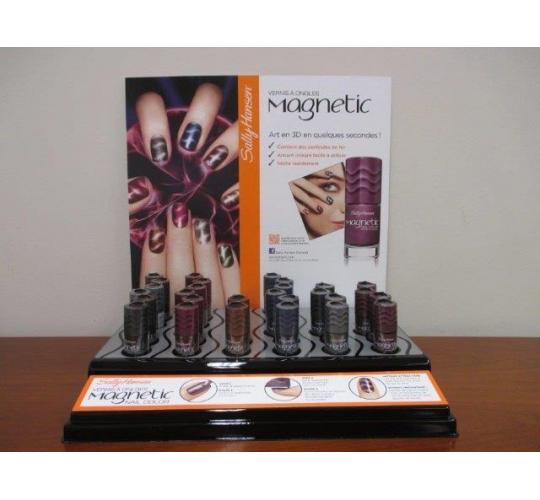 Clearance parcel of 84 Sally Hansen Metallic Nail Polish's Including Displays