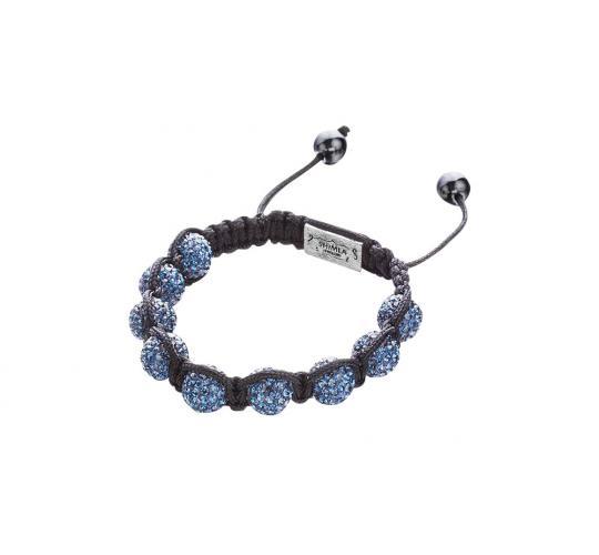 Joblot of 10 Shimla Bracelets Deep Blue Crystal 'Fireball' Beads SH031SRH