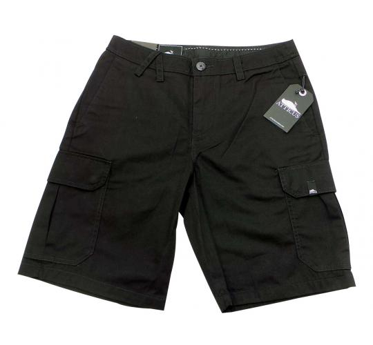 Joblot of 10 Pairs of Atticus Cargo Shorts Mens 'Wilcox' Black Size 30