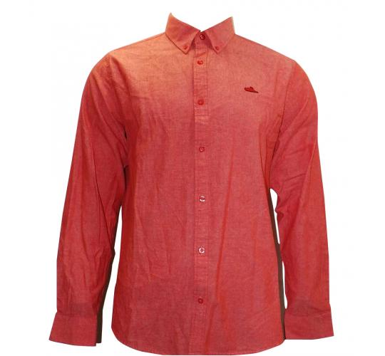 Joblot of 10 Atticus Shirts Button-Down Mens 'Resist' Red/Orange XS