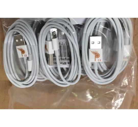 CE Approved Hight Quality USB Data Charging 8PIN 1 Meter Cable