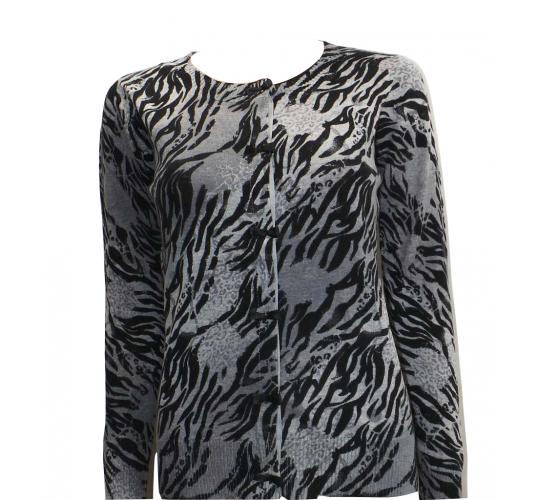 Joblot of 10 Atticus Cardigans Ladies 'Grr Cardigan' Animal Print Various Sizes