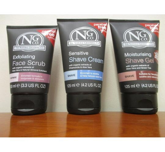 Parcel of 84 Natural Grooming company's Shave Creams & Face Washes