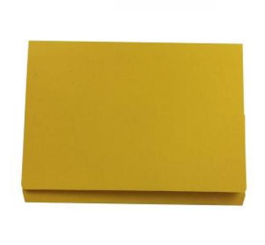One Off Joblot Of 300 Full flap Yellow Documents Wallets From Concord JT34509