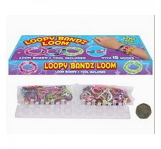 Loopy Bandz Loom with Bands and Accessories