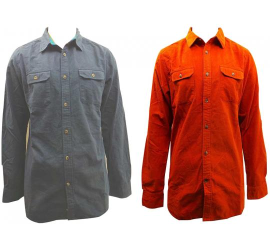 Joblot of 10 North Face Button-Down Shirts Mens Various Sizes Red&Navy