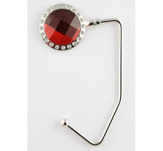 Red Crystal Handbag Hangers