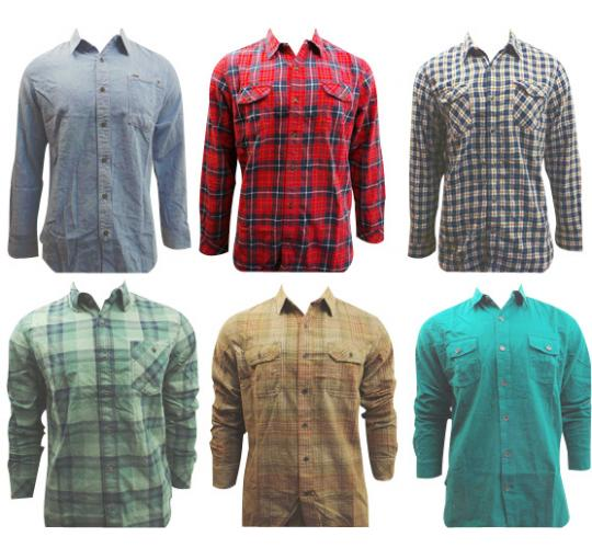 Joblot of 10 Timberland Button-Down Shirts Mens Various Patterns/Colours/Sizes