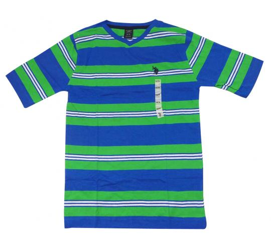 Joblot of 7 U.S. Polo Assn. T Shirts Kids Striped 2 Colours Various Sizes