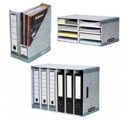 One Off Joblot Of 45 Mixed Magazine Files, File Modules & Desktop Sorters
