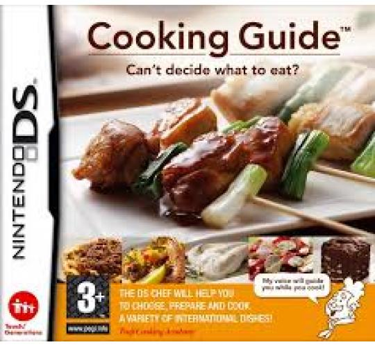 cooking guide nintendo ds game x 100