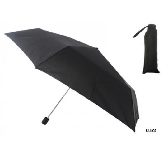Winter job lot of 48 Manual Black City Umbrella - UU0102