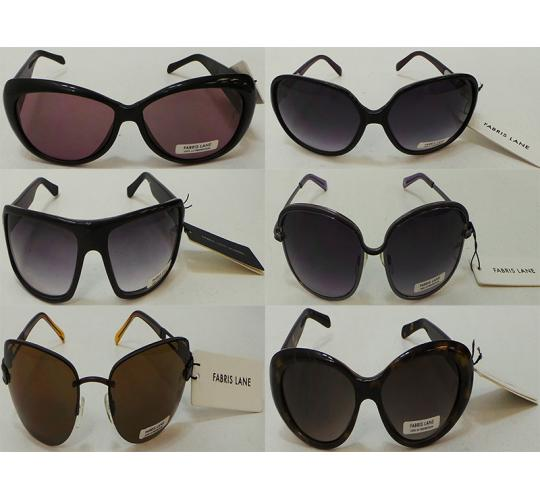 Joblot of 100 Assorted Pairs of Sunglasses Fabris Lane Mens & Womens Tagged