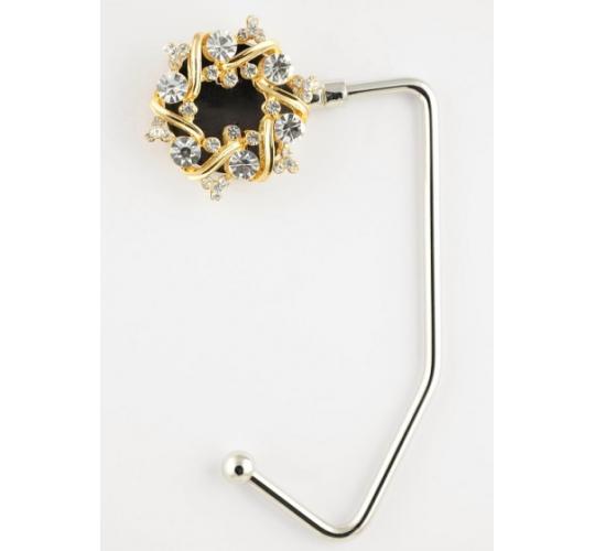 Gold Flower Ring Handbag Hangers