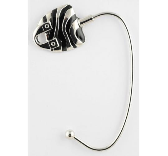 Zebra Tote Handbag Hangers