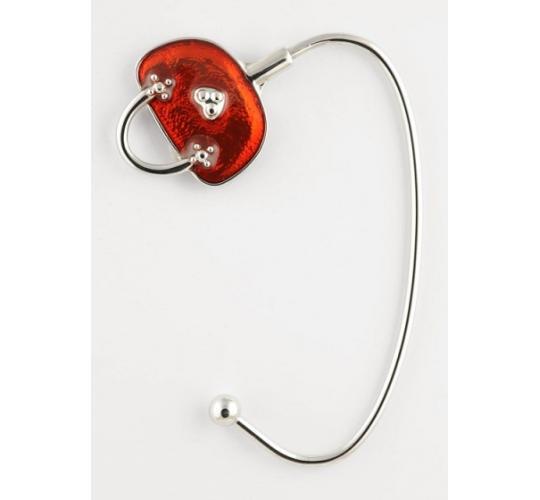 Red Shimmer Handbag Hangers