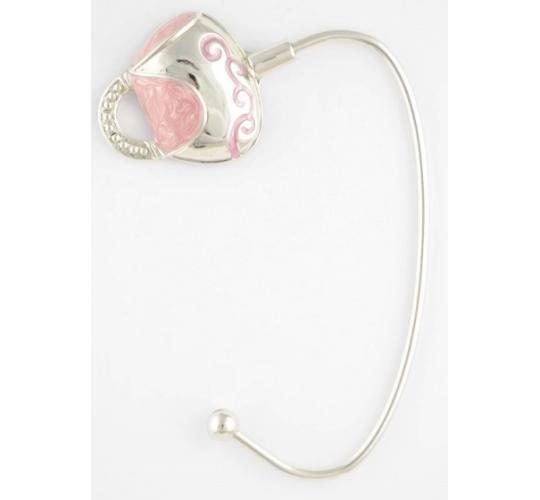 Pink Wave Handbag Hangers