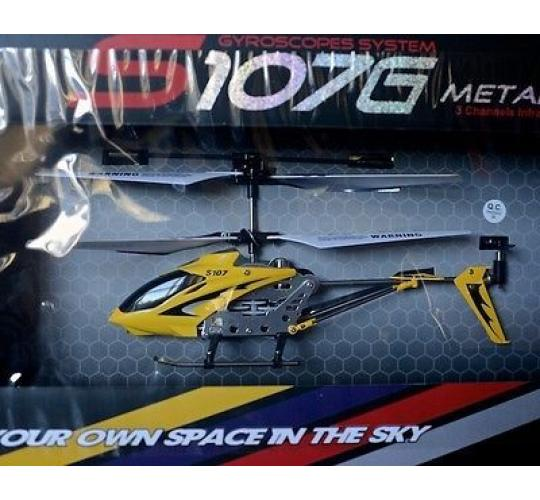 S107G 3CH IR HELICOPTER - YELLOW, Very Popular