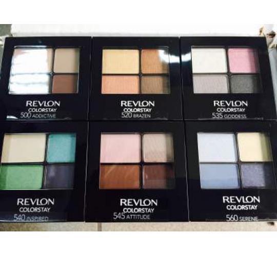 BESTSELLER Revlon 16 Hour Eyeshadow Quad!